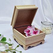 Материалы для творчества handmade. Livemaster - original item The box is made of MDF. Handmade.