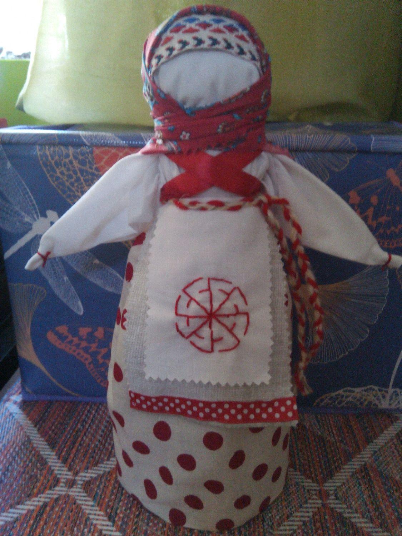 Кукла-оберег Метлушка-(к ней подарок-свежая лаврушка), Народная кукла, Сочи,  Фото №1