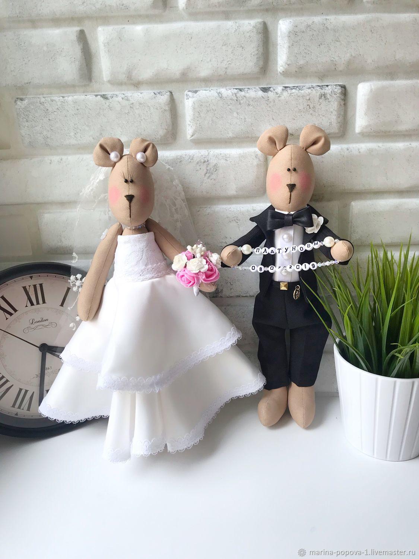 Подарок на свадьбу, Свадебные мишки, Свадебные игрушки, Подарки, Киров,  Фото №1