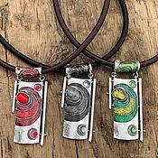 Украшения handmade. Livemaster - original item Interesting boho pendant. Stylish decoration on the neck. Sohostel. Handmade.
