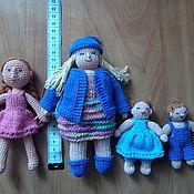 Куклы и игрушки ручной работы. Ярмарка Мастеров - ручная работа Вязанные куколки. Handmade.