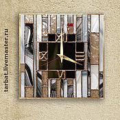 Для дома и интерьера ручной работы. Ярмарка Мастеров - ручная работа Часы ГЕОМЕТРИЯ. Handmade.