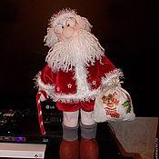 Куклы и игрушки ручной работы. Ярмарка Мастеров - ручная работа Кукла интерьерная Дед мороз. Handmade.