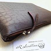 Сумки и аксессуары handmade. Livemaster - original item Leather folder laptop, folder for documents. Handmade.