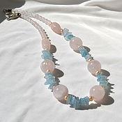 Украшения handmade. Livemaster - original item Necklace of natural stones Tenderness. Handmade.