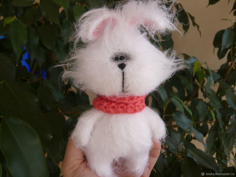 Crocheted Bunny Tishka, Stuffed Toys, Teykovo,  Фото №1