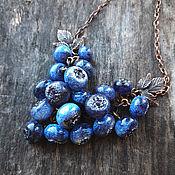 """Украшения ручной работы. Ярмарка Мастеров - ручная работа Подвеска """"""""Blueberry"""". Handmade."""