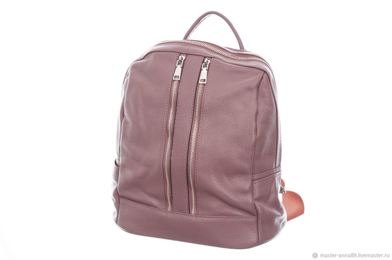 Женский кожаный рюкзак М741, Рюкзаки, Москва,  Фото №1