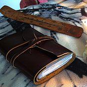 Русский стиль ручной работы. Ярмарка Мастеров - ручная работа Блокнот с символом ВЕЛЕСА. Handmade.