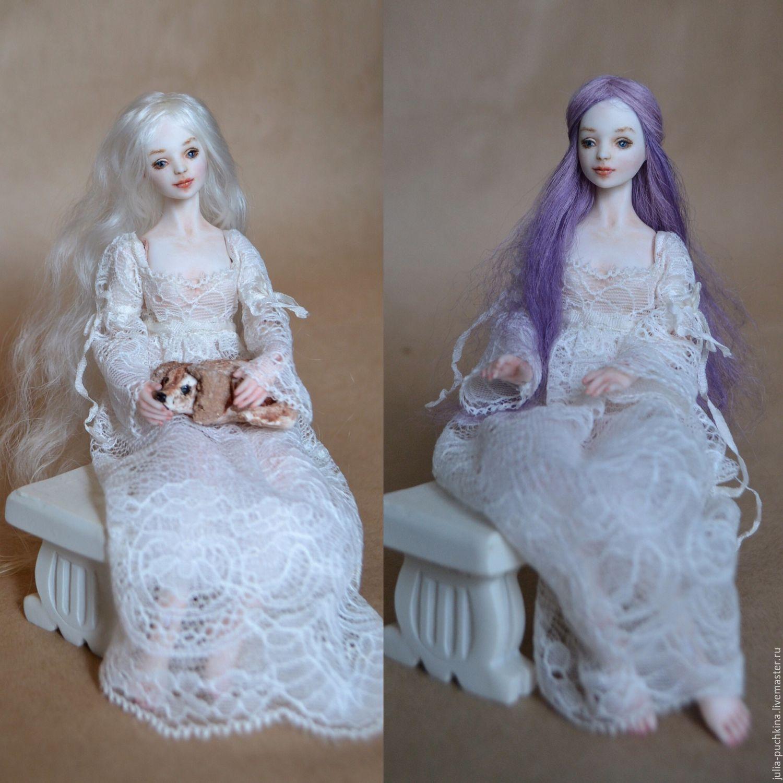 Коллекционные куклы ручной работы Пучкина Юлия Северина шарнирная кукла из фарфора миниатюра бжд