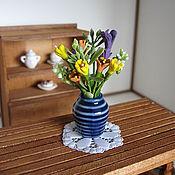 Куклы и игрушки ручной работы. Ярмарка Мастеров - ручная работа Цветы в вазе. Handmade.