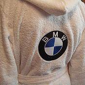 Сувениры и подарки ручной работы. Ярмарка Мастеров - ручная работа Махровый халат с вышивкой. Handmade.