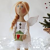 """Куклы и игрушки ручной работы. Ярмарка Мастеров - ручная работа Ангел """"Дом там, где сердце..."""". Handmade."""