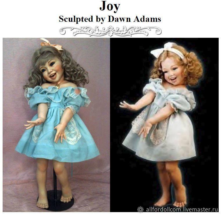 Joy - Dawn Adams - Создай свою!, Заготовки для кукол и игрушек, Денвер,  Фото №1