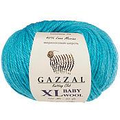 Материалы для творчества ручной работы. Ярмарка Мастеров - ручная работа Газзал беби вул XL GAZZAL Baby Wool XL. Handmade.