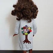 Куклы и игрушки handmade. Livemaster - original item Clothing for Paola Reina dolls: cardigan, hat. Handmade.
