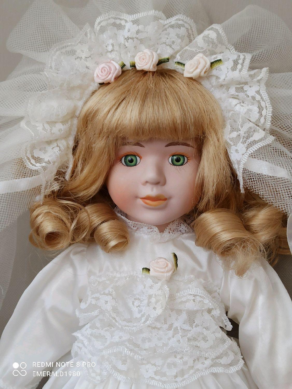 Винтаж: Невеста The Classique collection 40 см 90г фарфоровая кукла, Куклы винтажные, Краснодар,  Фото №1