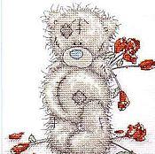 """Картины и панно ручной работы. Ярмарка Мастеров - ручная работа Вышивка """"Tatty Teddy"""". Handmade."""