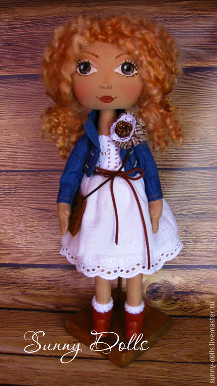 Коллекционные куклы ручной работы. Ярмарка Мастеров - ручная работа. Купить Джейн. Handmade. Разноцветный, кукла в подарок, кукла коллекционная