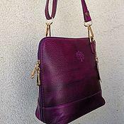 Классическая сумка ручной работы. Ярмарка Мастеров - ручная работа Сумочка кожаная. Handmade.