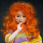 Куклы и игрушки ручной работы. Ярмарка Мастеров - ручная работа Авторская войлочная кукла Женька. Handmade.