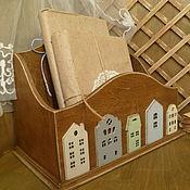 """Для дома и интерьера ручной работы. Ярмарка Мастеров - ручная работа короб"""" Дом там ,где сердце"""". Handmade."""