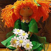 """Куклы и игрушки ручной работы. Ярмарка Мастеров - ручная работа сНежная девочка""""Лето""""1. Handmade."""