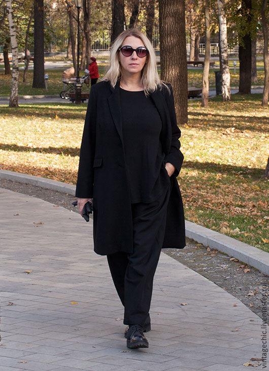 Пальто прямое классическое art.129a, Пальто, Москва, Фото №1