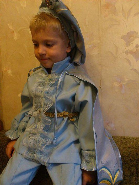 Детские карнавальные костюмы ручной работы. Ярмарка Мастеров - ручная работа. Купить Мой маленький принц. Handmade. Принц, парча