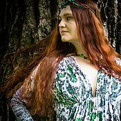 Одежда ручной работы. Ярмарка Мастеров - ручная работа Платье Одуванчиковая поляна. Handmade.