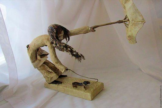 Коллекционные куклы ручной работы. Ярмарка Мастеров - ручная работа. Купить 37. Handmade. Интерьерная кукла, дождь