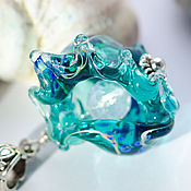 Pendants handmade. Livemaster - original item Lampwork beads