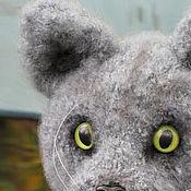 Куклы и игрушки ручной работы. Ярмарка Мастеров - ручная работа Котик  Дымок. . Handmade.