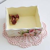 """Для дома и интерьера ручной работы. Ярмарка Мастеров - ручная работа конфетница """"азалия розовая"""". Handmade."""