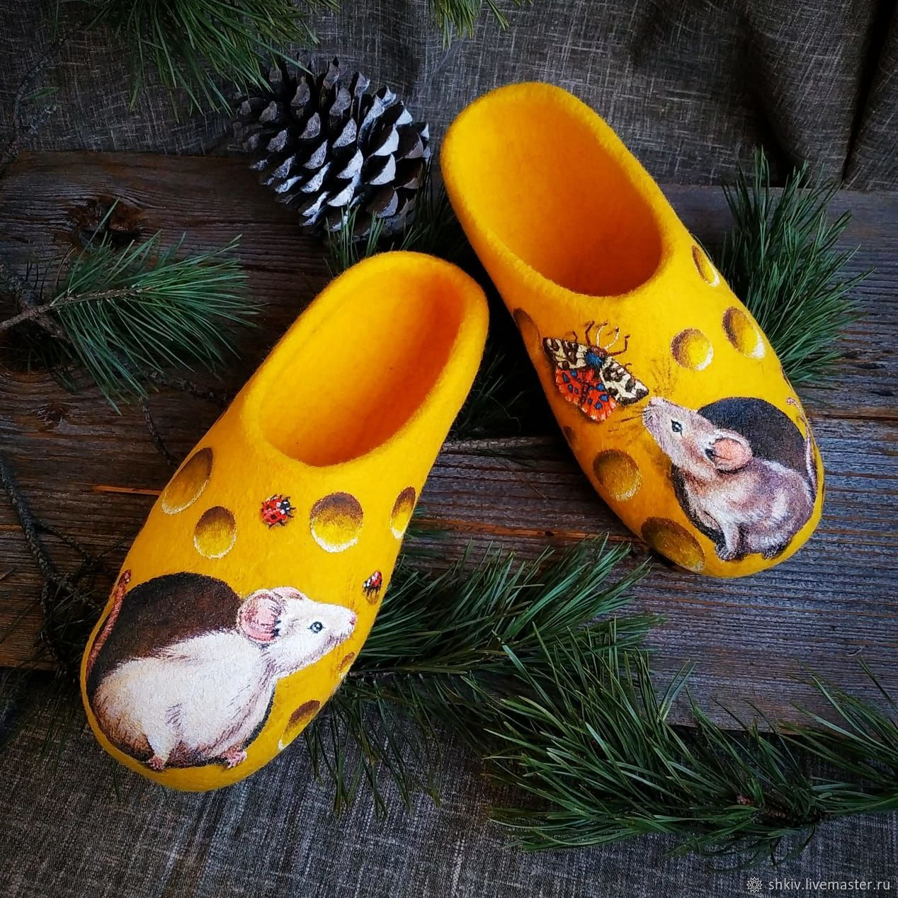 ' A mouse's Paradise', Slippers, Solnechnogorsk,  Фото №1