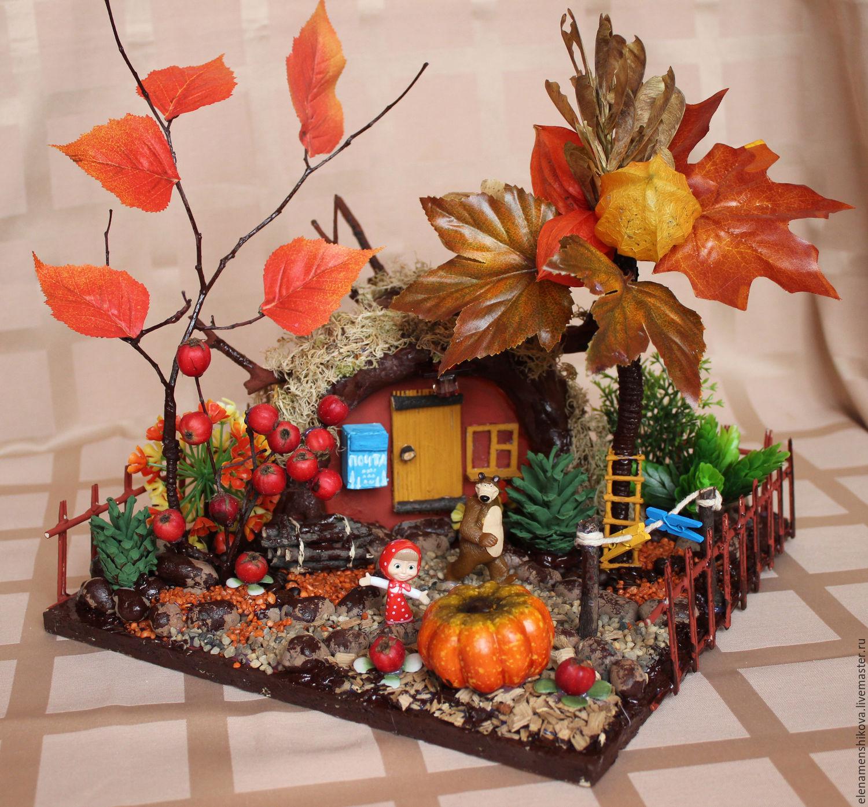 Креативные поделки осень