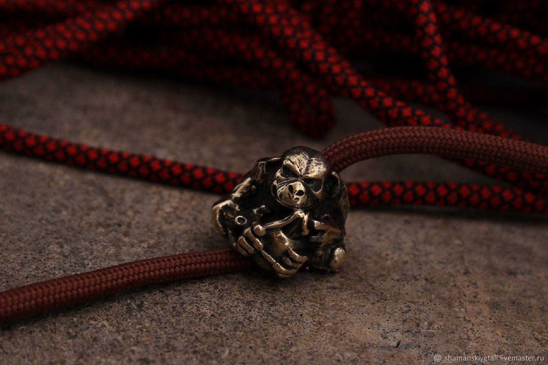 Monkey lanyard bead ,knife bead, Knives, Volgograd,  Фото №1