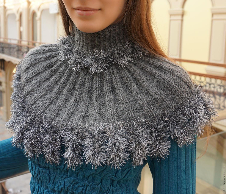 Agrawala knitted bib agrawala
