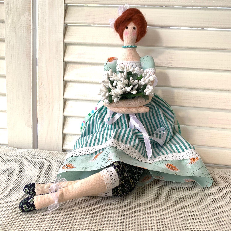 Тильда интерьерная текстильная  кукла, Куклы Тильда, Сергиев Посад,  Фото №1