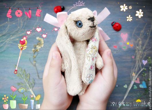 Мишки Тедди ручной работы. Ярмарка Мастеров - ручная работа. Купить Игрушка ручной работы Зайка Ася, друзья тедди. Handmade.