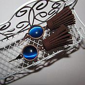 Украшения ручной работы. Ярмарка Мастеров - ручная работа Серьги с кисточками. Handmade.