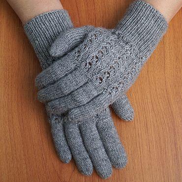 Accessories handmade. Livemaster - original item Knitted gloves