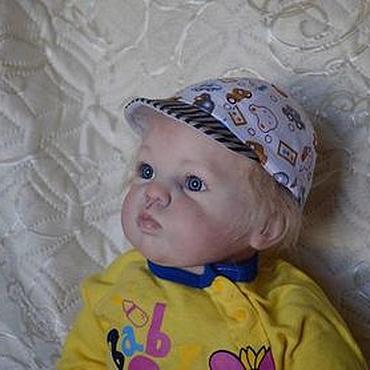 Куклы и игрушки ручной работы. Ярмарка Мастеров - ручная работа Кукла реборн мальчик 68см.. Handmade.