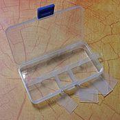 Материалы для творчества ручной работы. Ярмарка Мастеров - ручная работа Органайзер пластиковый, для хранения мелочей. Handmade.