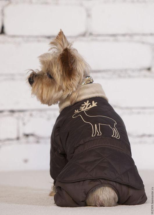 Одежда для собак, ручной работы. Ярмарка Мастеров - ручная работа. Купить Одежда для собаки Олененок. Handmade. Комбинированный, комбинезон для собак