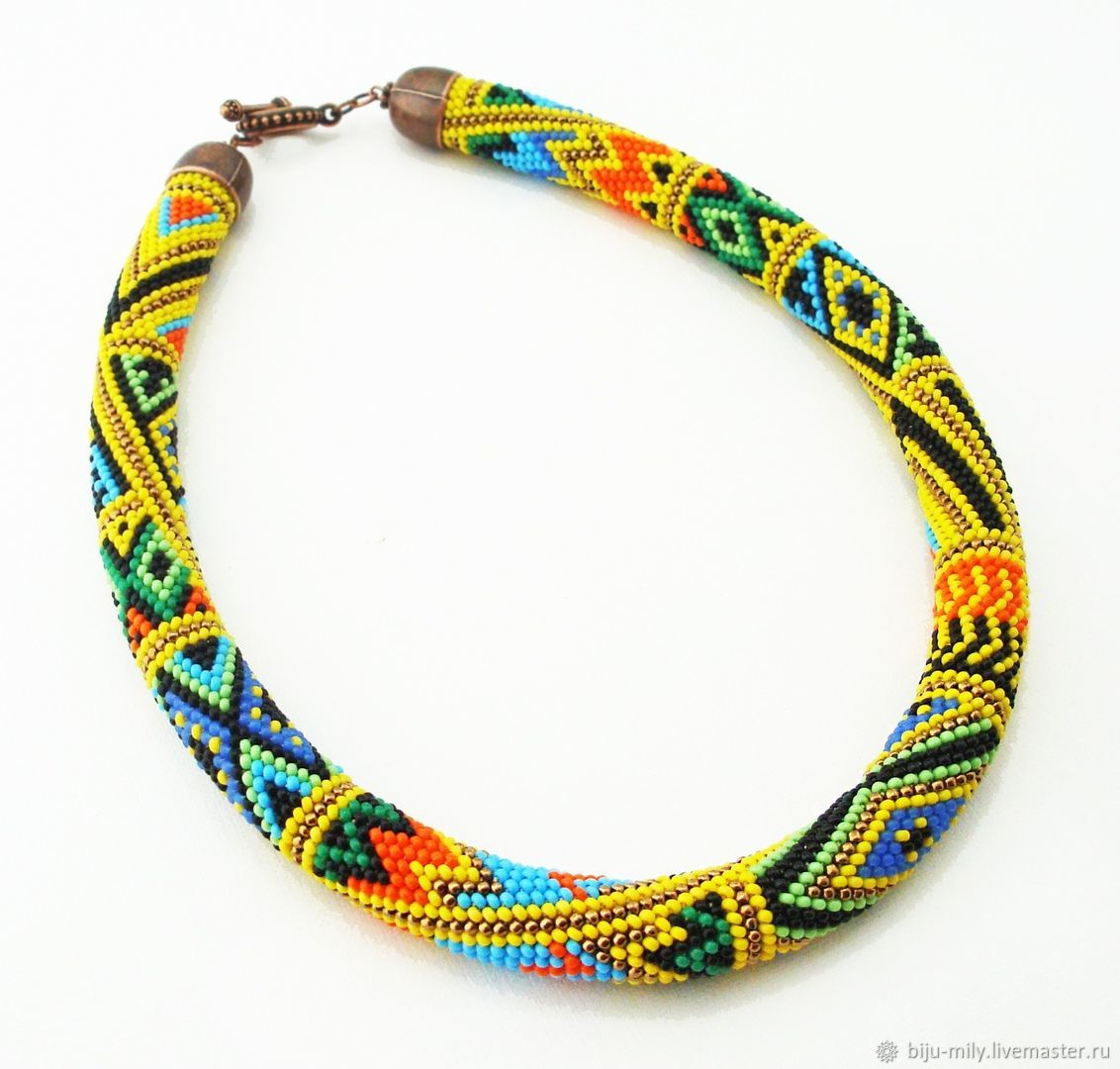Harness beaded sun, Necklace, Abakan,  Фото №1