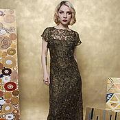 Одежда ручной работы. Ярмарка Мастеров - ручная работа Платье вечернее кружевное. Handmade.