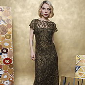Одежда handmade. Livemaster - original item Evening dress lace. Handmade.