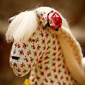 Куклы и игрушки ручной работы. Ярмарка Мастеров - ручная работа Лошадка в розочках. Handmade.