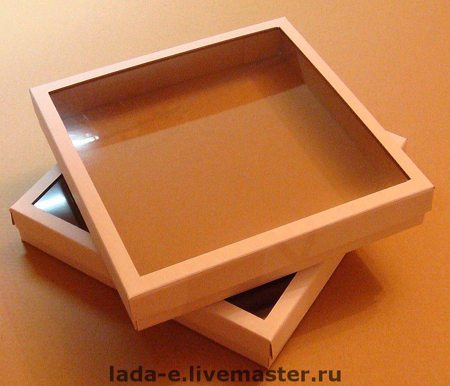 Коробка прозрачная своими руками
